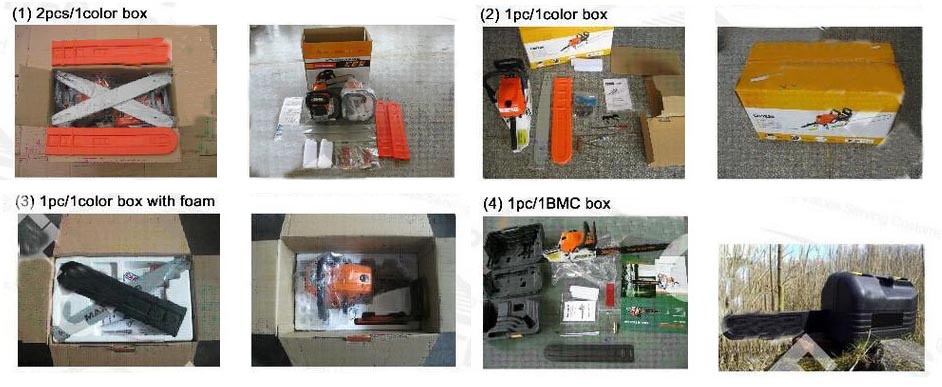 Chain saw package