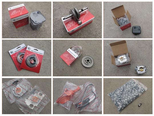 chainsaw spares package