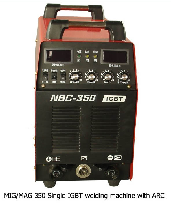 Mig/mag/arc welding machine NBC350