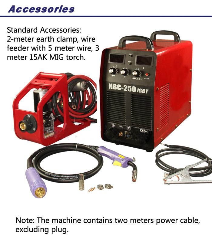 welding machine NBC250F